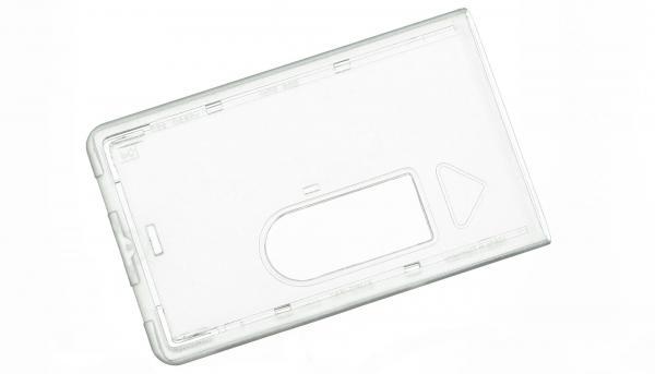 Scheckkartenhüllen Hartplastik EC-Kartenhüllen farbig - Transparent