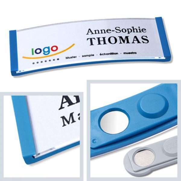 polar20 Namensschilder, Magnet, Kunststoff