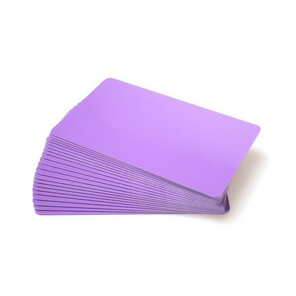Plastikkarten Violett, Plastikkarten Lila, Rohling aus PVC