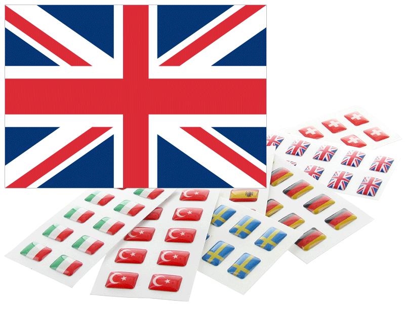Flaggensticker Für Namensschilder