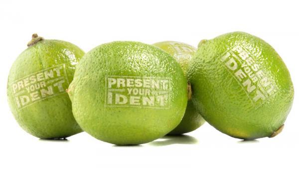 Werbeobst Limette Zitrone