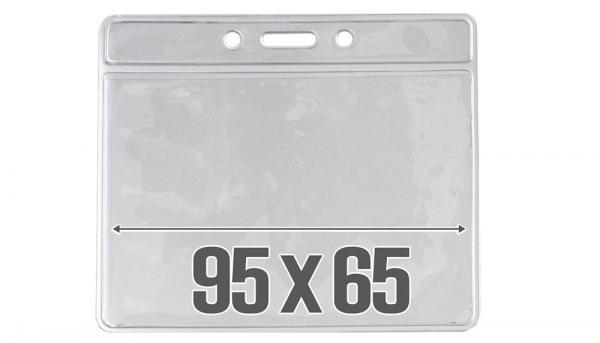 Ausweishüllen transparent 95 x 65 mm