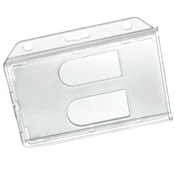Kartenhalter doppel aus Hartplastik