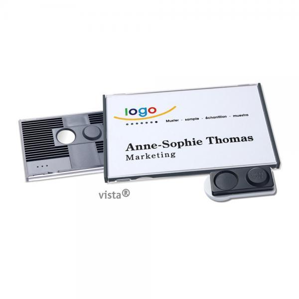 Vista 50 Magnet-Extra-Namensschild