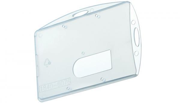 Doppel-Kartenhalter für Ausweise, Querformat und Hochformat