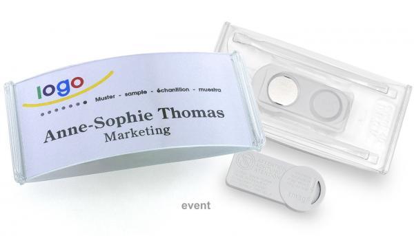 event 40 Namensschilder mit Magnet