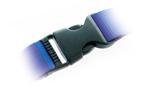 Abnehmbarer Kunststoff-Clip