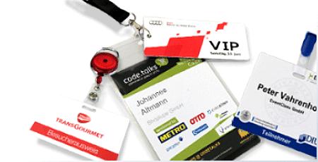 Besuchermanagement und Besucherausweise