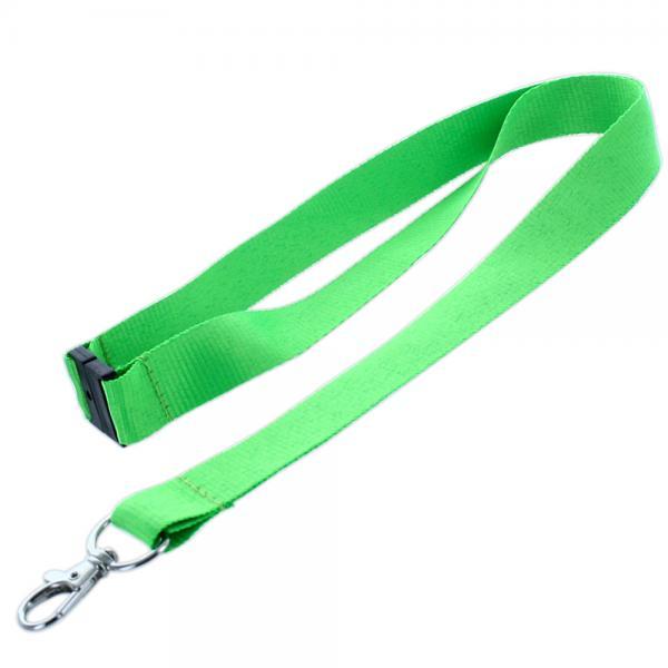 Lanyard mit Sicherheitsclip Neon Grün