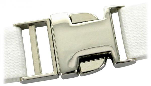Steckschnalle aus Metall für Schlüsselband