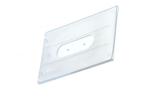 Kartenhuelle für Scheckkarten, transparent